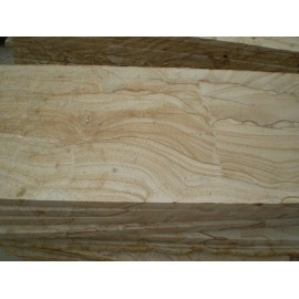Natural white pine wood stone