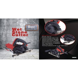 125 Roc Stone cutter circular saw + Guide rail
