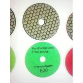 Dry Ceramica Diamond Polishing pads 800 Grit Only