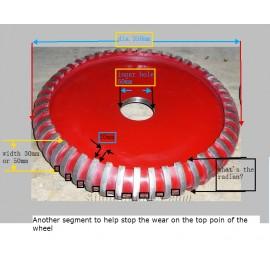 400D Silent Pro Fraisage roue x 20w pour le granit