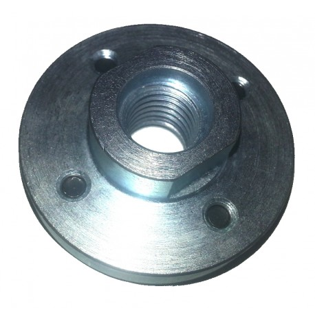 Blade flanges solid steel M14 bolt on