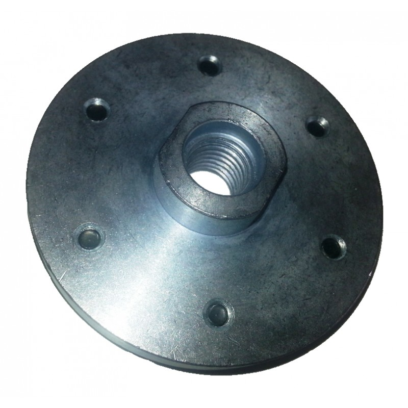 M14 Solid Steel Bolt On Blade Flange Boss For Flush Cutting