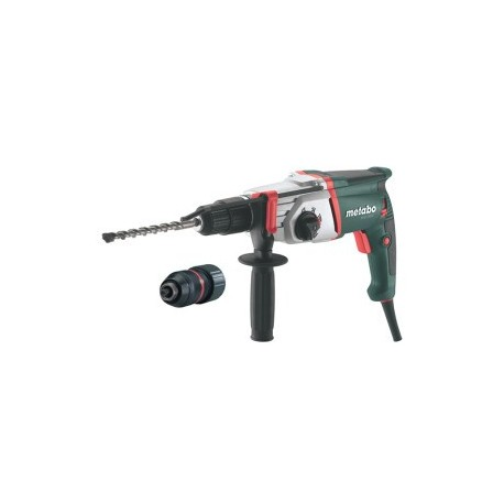 metabo uhe 2850 sds plus combination hammer drill 3jaw chuck. Black Bedroom Furniture Sets. Home Design Ideas