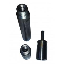 """core drill 1/2""""BSP / M14 adaptors"""