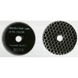 Dry Ceramica Diamond Polishing pads Black Buff Grit Only