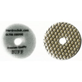 Dry Ceramica Diamond Polishing pads White Buff Grit Only