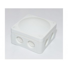 JUNCTION BOX - 110X110X66 - WHITE