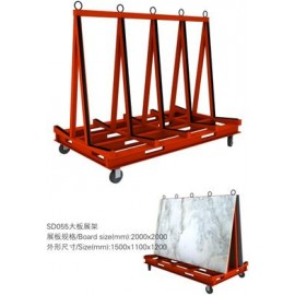 A Frame trolly metal with straps