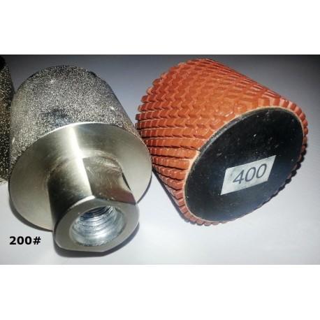 Diamond Drum 50mm D Metal & Resin Bonded