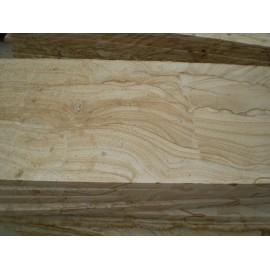 Natural white pine wood stone