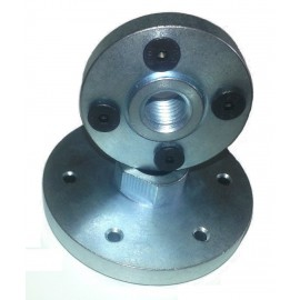 solid steel M14 bolt on blade flanges