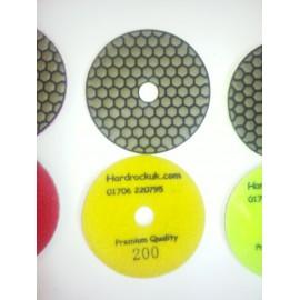 Dry Ceramica Diamantpolierauflagen 200 Grit Nur