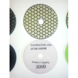 Dry Ceramica Diamond Polishing pads 3000 Grit Only