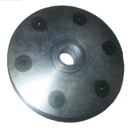 bullone in acciaio solido M14 su flange lama