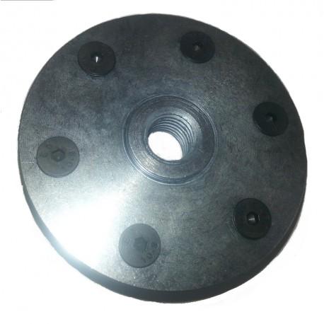 solid steel M14 bolt on blade flanges