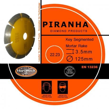 "125mm 5"" SEG Mortar Cutting Rakes Amber Bond Diamond Product"