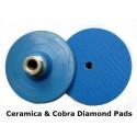 100mm Diameter Plastic velcro backing holder M14 (disc holder)