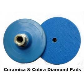 100mm Dia plastique support de Velcro titulaire M14