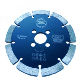 "125D 5"" Key Seg Piranha Black Diamond cutting Blade"