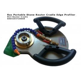 Router Cradle (borde profiler) bajo costo Portable. por Roc