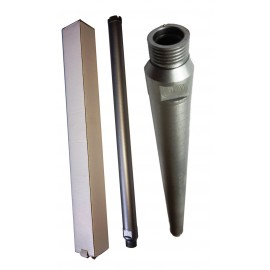 CORE DRILL 28 D STD WALL 400mm Long CONCRETE CROWNED