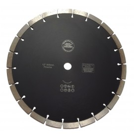 "300mm(12"") kEYSEG Black Piranha Diamond Blade 20.0C12.0H"