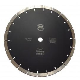 300D Seg Noir Piranha lame de diamant 20.0C