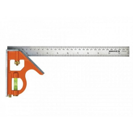 """300mm (12"""")Combination Square Heavy Duty with Level"""