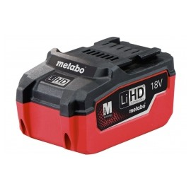 Metabo Slide Battery 18 Volt 6.2Ah Li-Ion HD