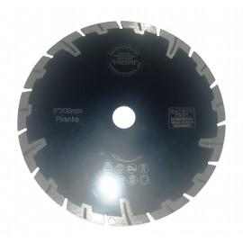 200mm Rhino Black Granite Turbo Diamond Blade