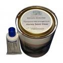 steenlijm 1ltr zelfklevende polyesterhars & verharderblik