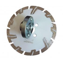 125mm Rhino White Stone Concrete Turbo Diamond Blade with flange holes