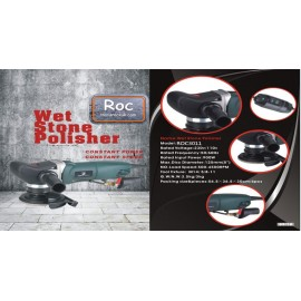 "Roc Quicki 5"" 125mm variable speed wet stone polisher 110volts"