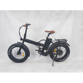 FAT FOX (mini folding electric bike) 350W peddle assist (Solid forks)
