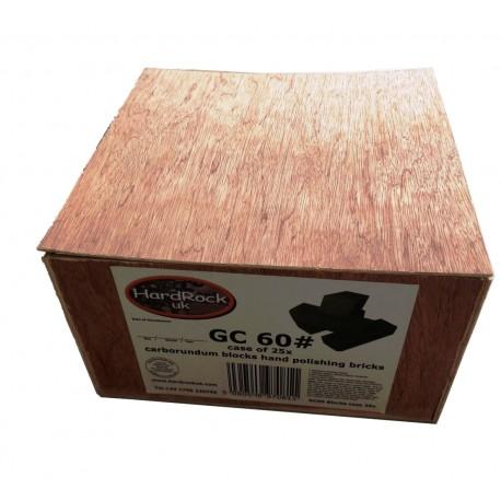 25x carborundum blocks bricks hand polishing