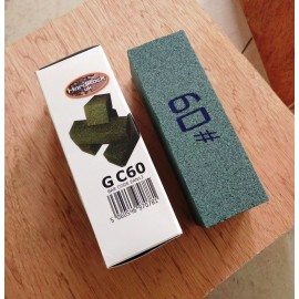 Carborundum polissage à la main des briques blocs