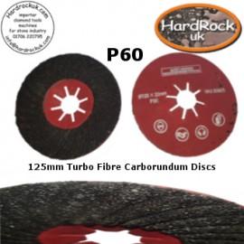 125 Spiral Fibre Packs de disques Turbo 5