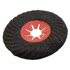 125 Spiral carborundum Fibre Turbo Disc (single discs)