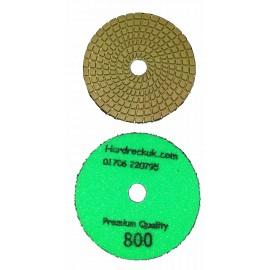 solo bagnato Cobra Diamante lucidatura Pad 800 grit