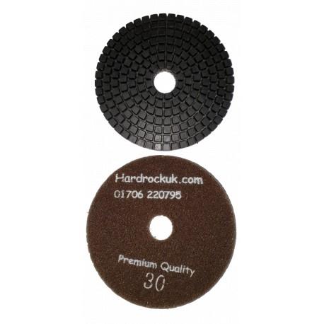 Wet Cobra Diamond Polishing Pad 30 grit only