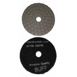 bagnato Cobra Diamante lucidatura nero del rilievo solo Buff