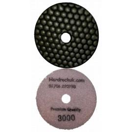 8 ceramica 3000 grit dry diamond polishing pad