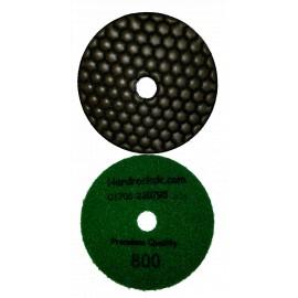 5 ceramica 800 grit dry diamond polishing pad