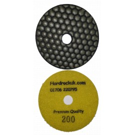 Dry Ceramica Diamond Polishing pads 200 Grit Only