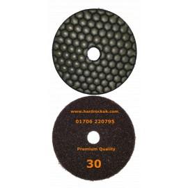 0 ceramica 30 grit dry diamond polishing pad
