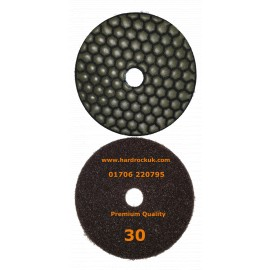 Dry Ceramica Diamantpolierauflagen 30 Grit Nur