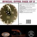 230mm D Pack of 5 BLACK Rhino Turbo Piranha Diamond Blade kits