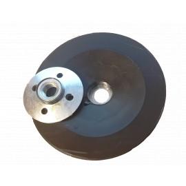 NOUVEAU! porte-disque en fibre de plastique platée Porte-disque en fibre d'écrou M14 bombée