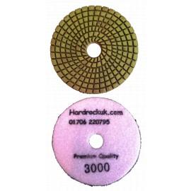 solo bagnato Cobra Diamante lucidatura Pad 3000 grit