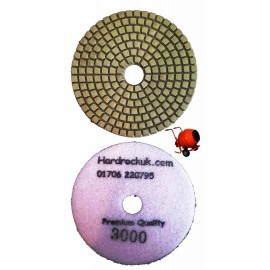Concrete apecial diamond polishing pad lustre pad 3000 grit only